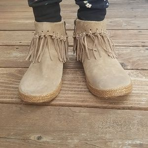 UGG Shenandoah Suede Ankle Boot Sugar Pine Chest